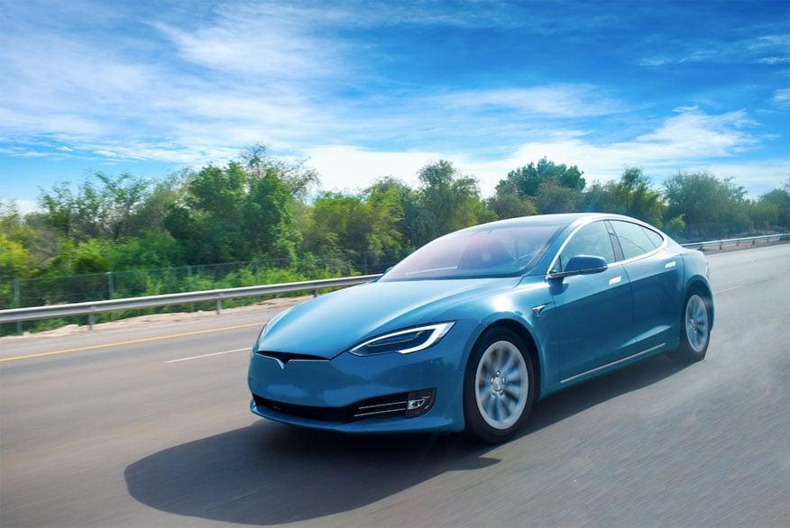 Flinke opmars elektrische auto's